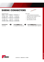 Datasheet – Shrink Connector