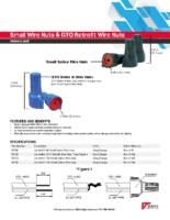Datasheet – Small Splice & GTO Retrofit Wire Nuts