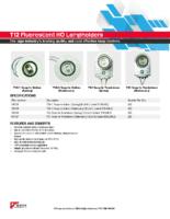 Datasheet – T12 Fluorescent HO Lampholders