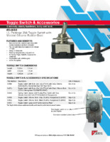 Datasheet – Toggle Switch & Accessories