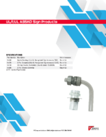 Datasheet – UL/cUL ABSKO Sign Products