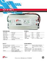 Datasheet – VLP-12-120-U