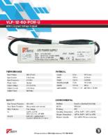 Datasheet – VLP-12-60-PCM-U