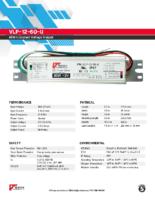 Datasheet – VLP-12-60-U