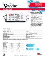 Datasheet – VLP100-277