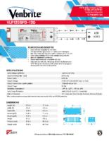 Datasheet – VLP125SPD-120