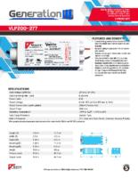 Datasheet – VLP200-277