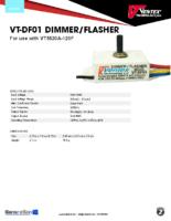 Datasheet – VT-DF01