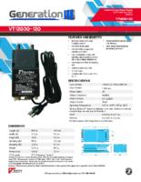 Datasheet – VT12030-120