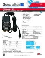 Datasheet – VT12030D-120