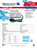 Datasheet – VT4030CL-120