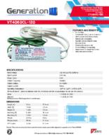 Datasheet – VT4060CL-120