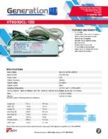 Datasheet – VT6030CL-120