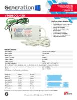 Datasheet – VT6060CL-120