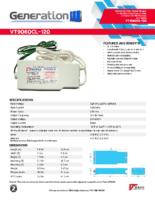 Datasheet – VT9060CL-120