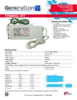 Datasheet – VT9060CL-277