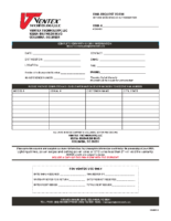 Print, Complete and Submit the RMA Form