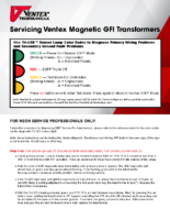 Servicing Magnetic GFI Transformers