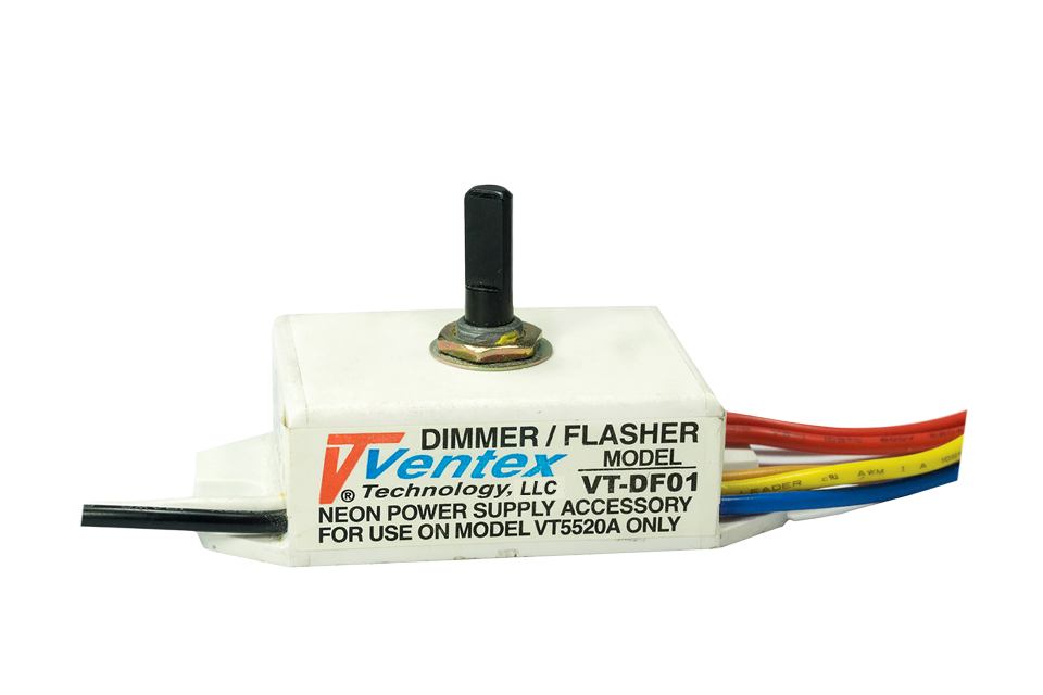 Vt df01 neon dimmer flasher ventex technology llc only publicscrutiny Images